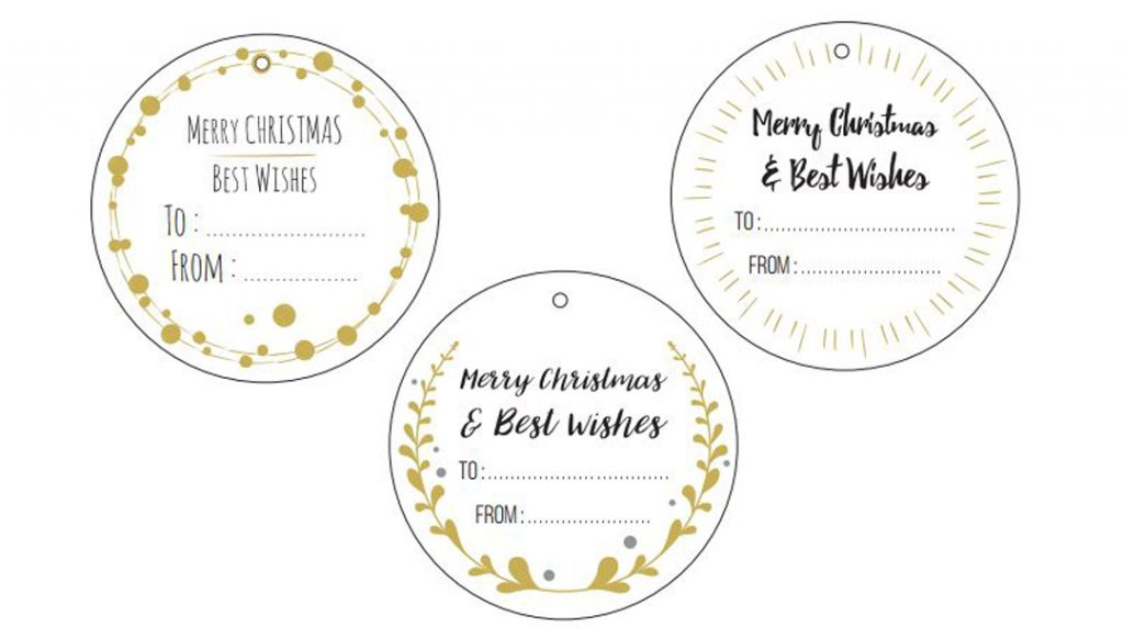 Download Our Free Christmas Gift Tags Photobox Blog