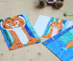 Turn your kid's drawings into puzzles!