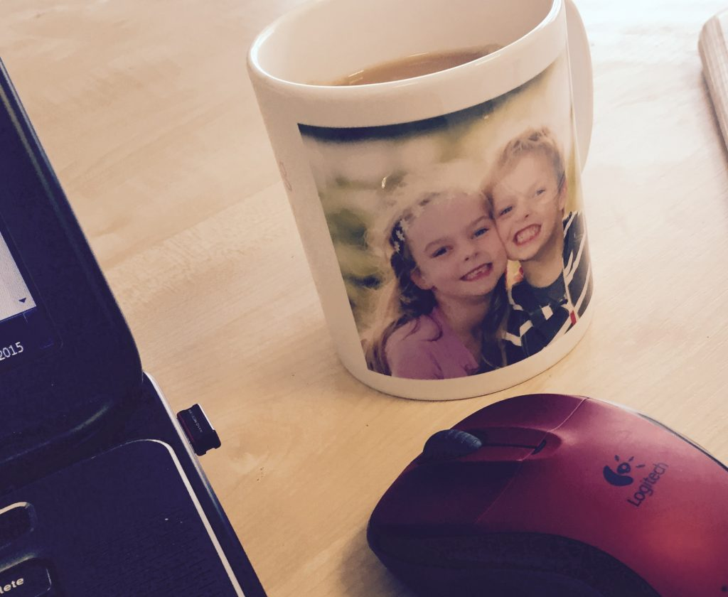 personalised mug with children