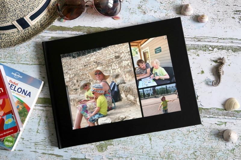 Creating summer holiday photo books