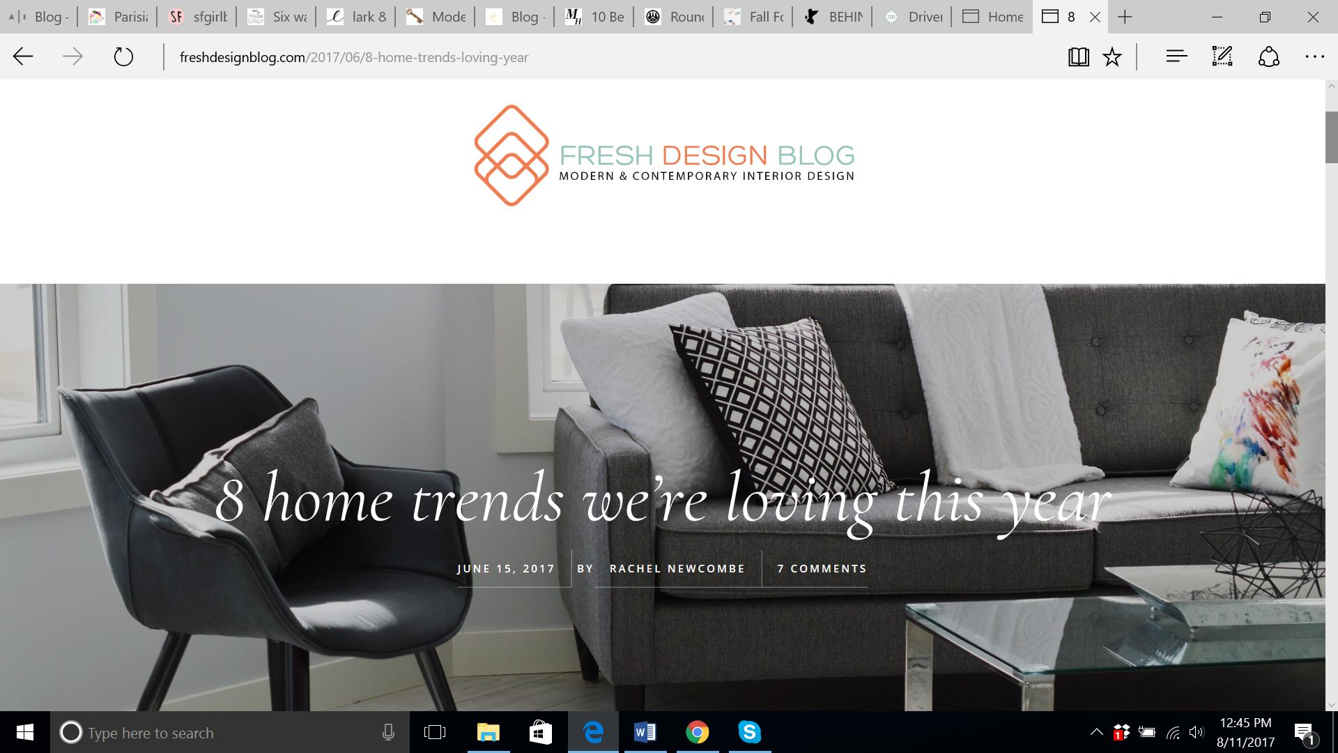 15 eye catching interior dcor blogs - Contemporary Interior Design Blog