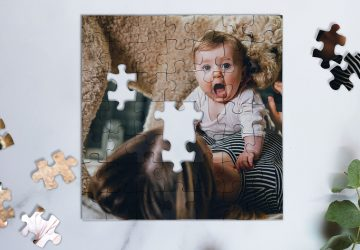 personalised puzzle baby