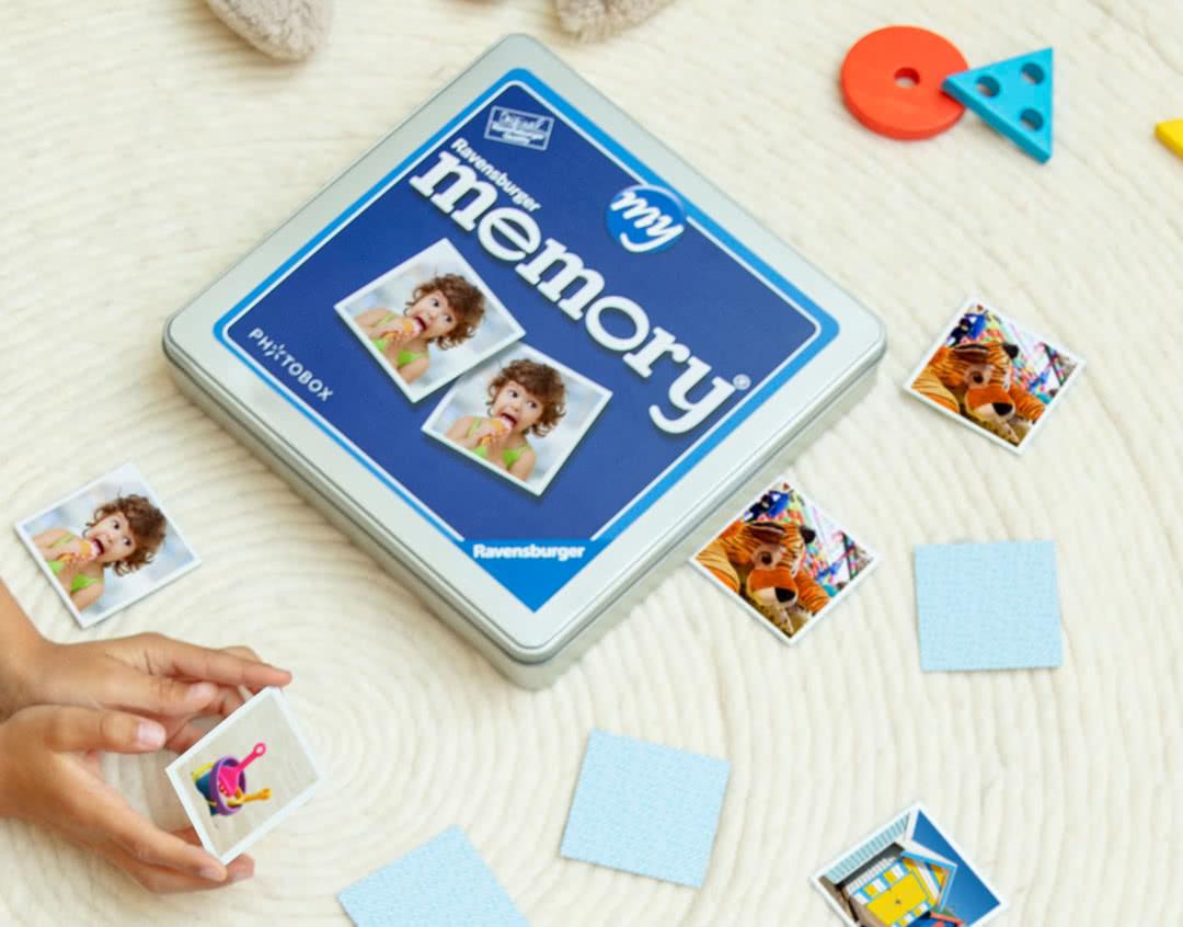 jeu memory personnalisé